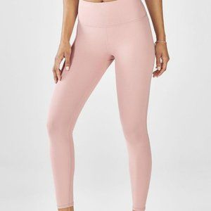 Fabletics High-Waisted PowerHold 7/8 Rosebloom L